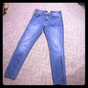Hudson ankle skinny jeans